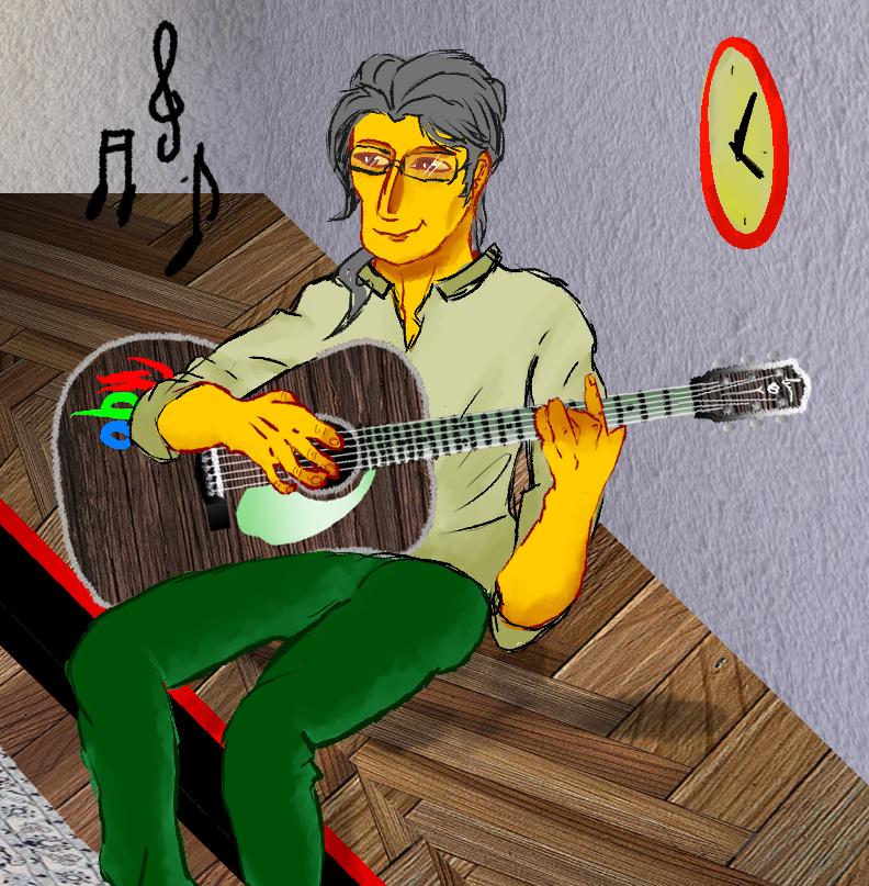 Debuxo: Rebeca González